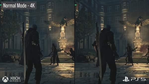 《鬼泣5:特别版》XSX/PS5技术分析 差别不大