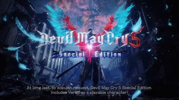 《鬼泣5:特别版》游戏特点介绍 可操控维吉尔