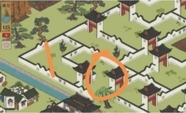 江南百景图4只野狗位置坐标大全