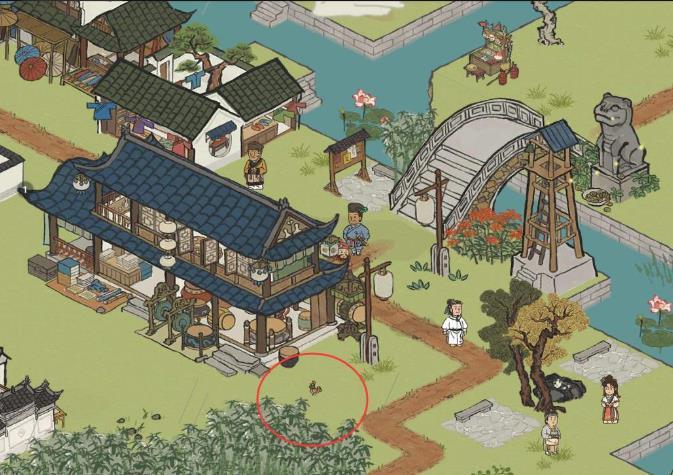 《江南百景图》虎丘位置一览