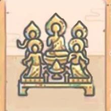 最強蝸牛鎏金彌陀佛像屬性介紹