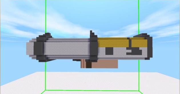 迷你世界:DMM火箭筒制作如此简单?扛上火箭筒