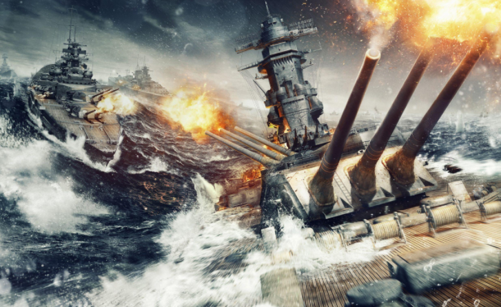 """《战舰世界》新版本评测:在海上咆哮的""""钢铁"""
