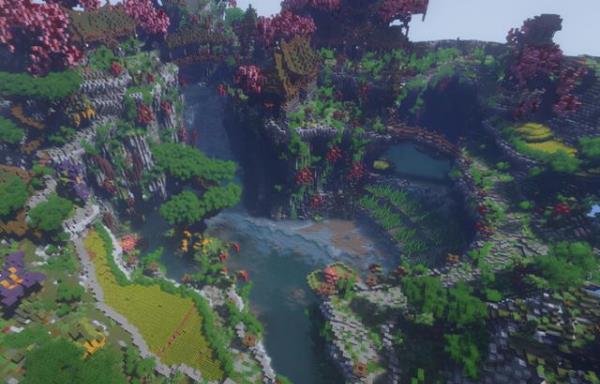 我的世界:玩家建造角斗场趣味竞技地图,超高挑战性让人身临其境!