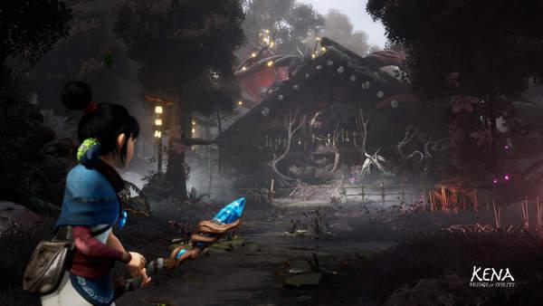 《柯娜:精神之桥》游戏拉弓射箭触感提升