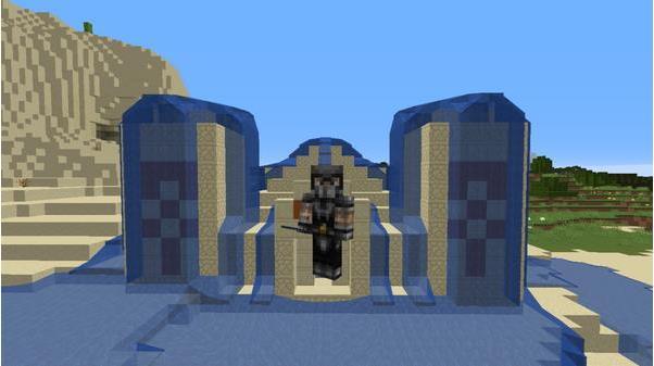 我的世界水建筑搭造详细教程