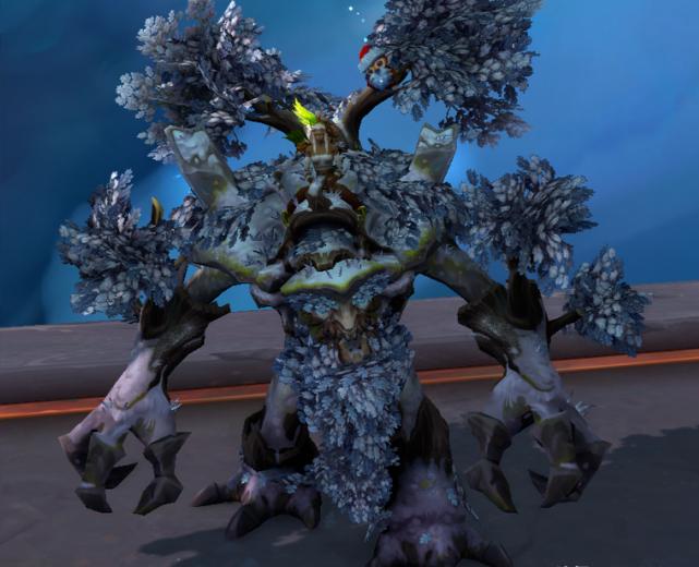 """魔兽世界""""古树""""坐骑实装,独特效果卡视野堪"""