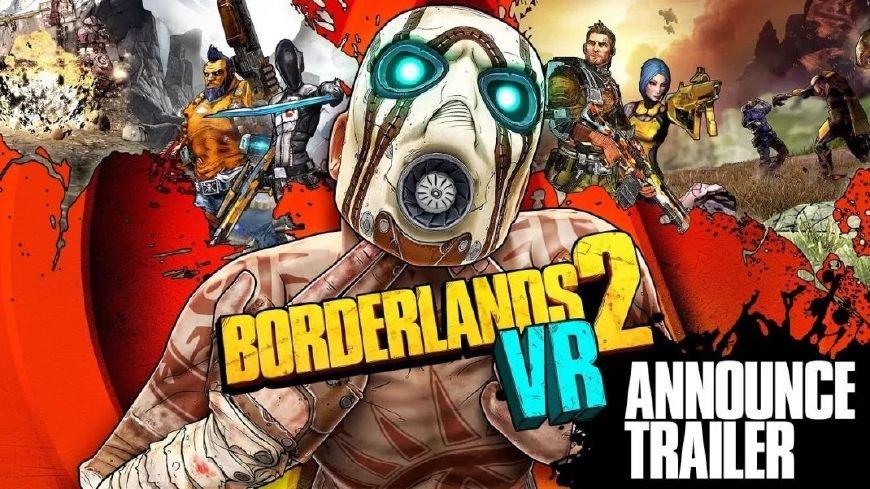 纪念索尼PS VR上市两周年,《无主之地2》正式推出VR版