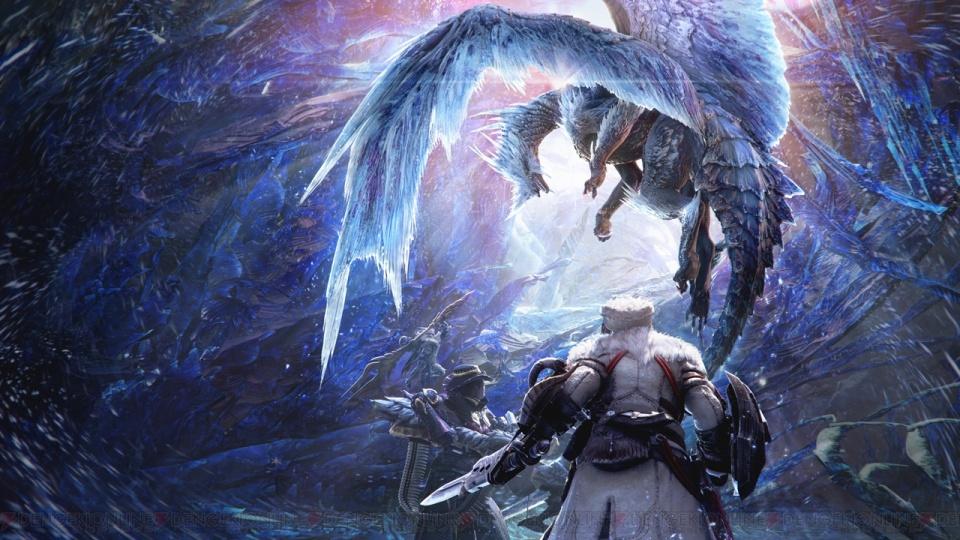 怪物猎人世界冰原DLC又被玩家玩坏 集会所画风突