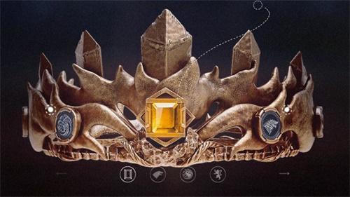 《权力的游戏 凛冬将至》手游新王之战王冠惊艳亮相