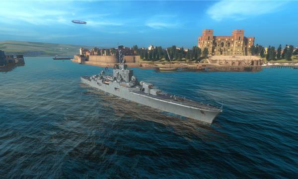 """战舰世界闪击战:巡洋舰""""贝亚德""""首发上线"""