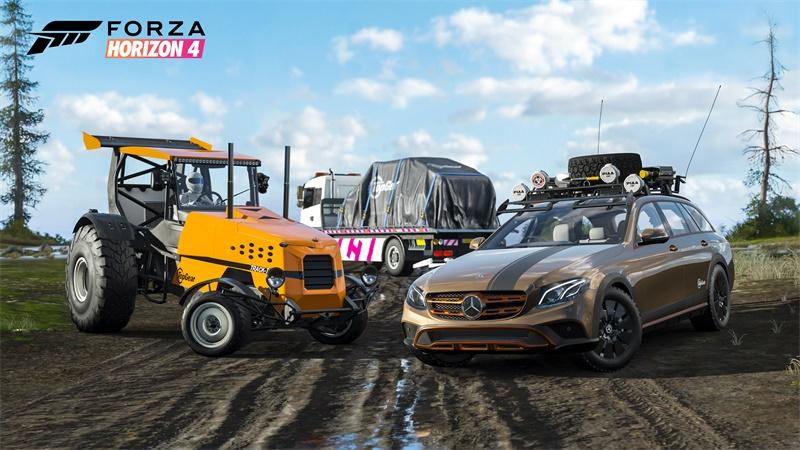 《极限竞速:地平线4》携手Top Gear活动来袭