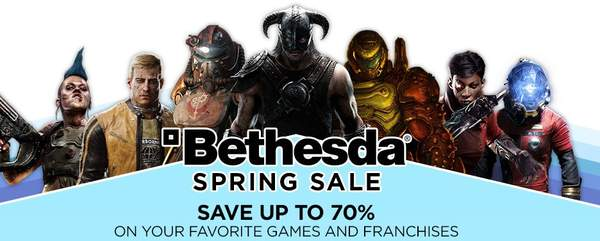 Steam开启B社游戏促销《毁灭战士》《辐射》均打