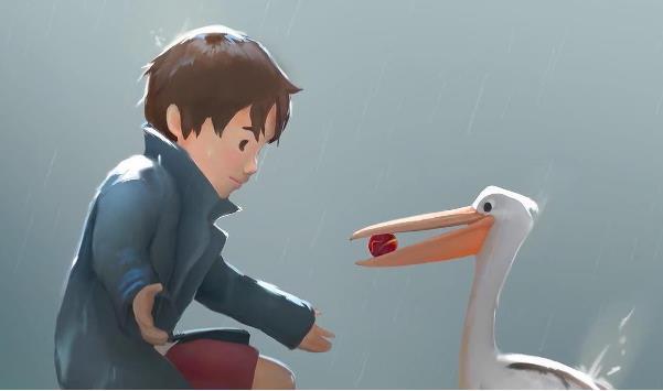 跨越种族的友谊《男孩与鹈鹕》预计年底上架