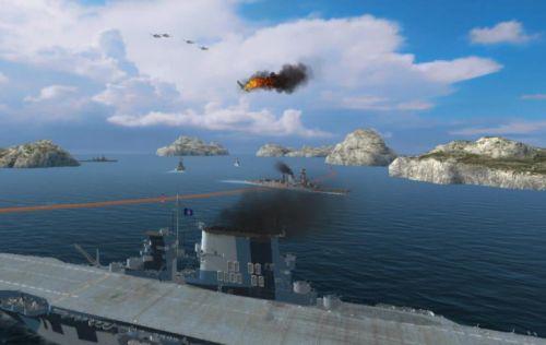 战舰世界闪电战即将上架 内容曝光