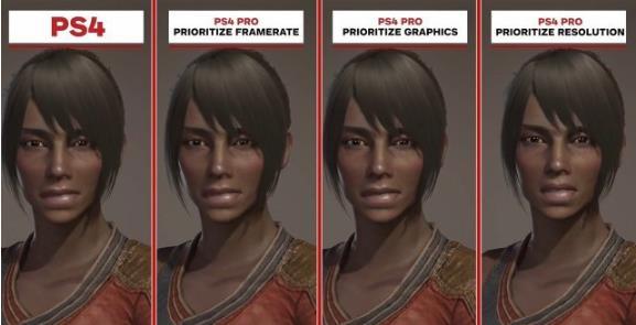 怪物猎人世界PS4和PS4Pro版画面对比