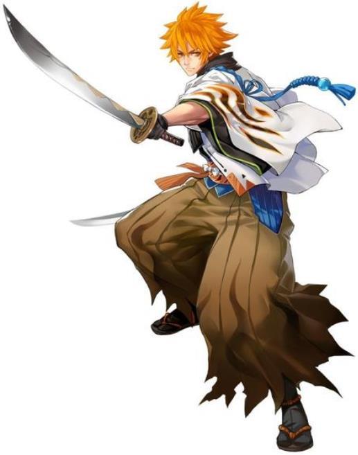 侍魂胧月传说:前排战士鬼剑,也可远程攻击!