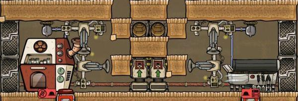 《缺氧》自动化厨房模块建造建议