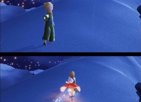 光遇季节宣传片小王子地图位置