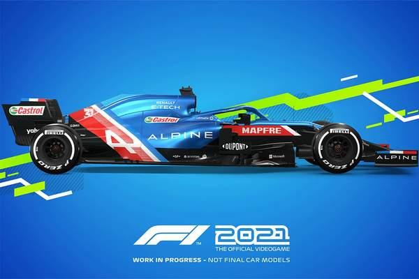 《F1 2021》次世代版将有2种模式 支持4K/60或2K/120帧