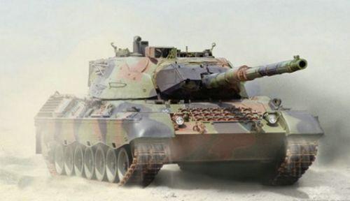 這才是天生獵手《坦克世界》Leopard 1暗影突襲