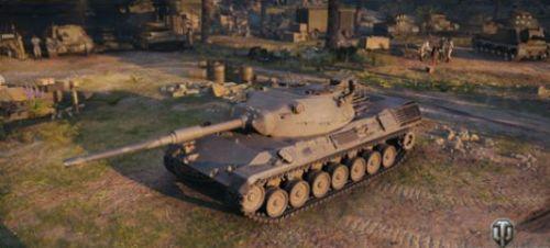 中坦新曙光坦克世界豹1和斯塔卜1性能调整实装