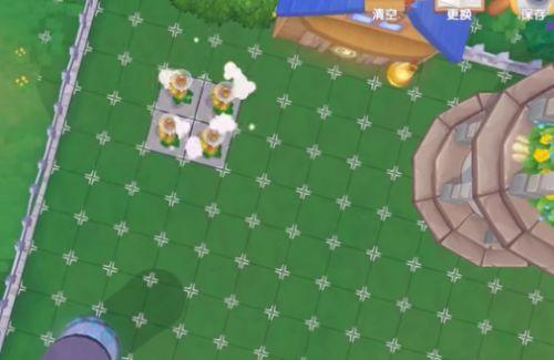 摩爾莊園地板播種的兩種方法 利用無痕柵欄搭建