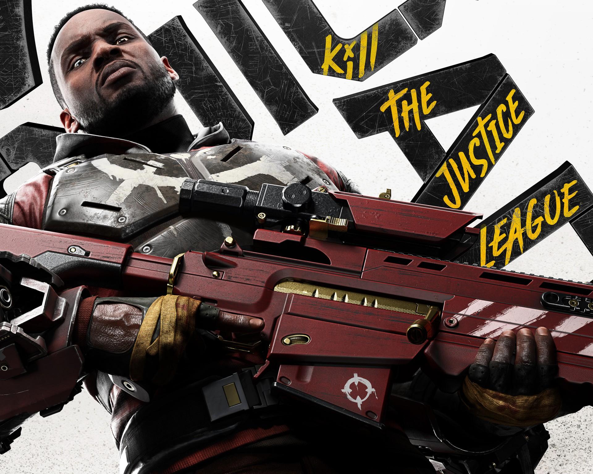 《自杀小队:杀死正义联盟》新角色艺术图 气势
