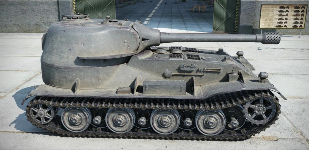 《坦克世界》D系重坦最后的王牌